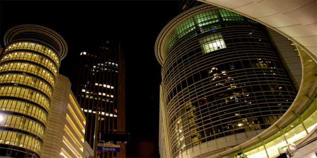 Enron Corporaate Headquarters in Houston
